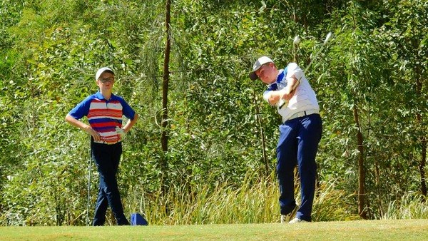 Eric Summers in action during the JNJG Foundation-sanctioned Stonecutters Ridge Junior Classic Nepean News 11th January, 2018