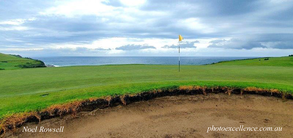 The horizon green at Gerringong GC Australian Senior Golfer March, 2021