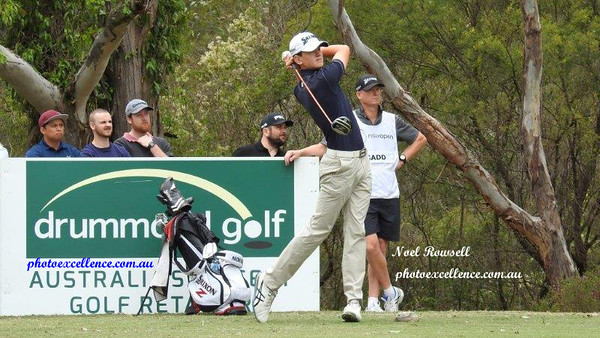 Penrith's Joshua Gadd in action at the 2017 NSW Golf Open at Twin Creeks Penrith City Gazette (on-line edition) 18th December, 2017