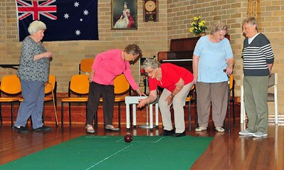 Carpet Bowls at St Marys Senior Citizens Nepean News 6th February, 2020