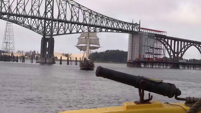 Lady Washington fires her cannon. Video by Jim Beer, TallSky Videography, Springfield, Ore. https://www.youtube.com/user/TallSky Except for brief excerpts for educational purposes or for news and information broadcasts or webcasts, this video may not be used for commercial purposes without the written consent of GHHSA.