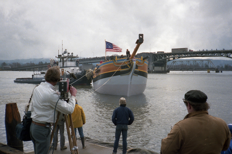 The Lady Washington is launched on March 7, 1989.
