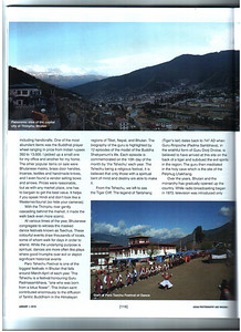 """Asian Photography  http://www.asianphotographyindia.com/ January 2010 Issue - Travel Feature Article - """"Bhutan - The land of the Thunder Dragon"""" article and pictures by Suchit Nanda.  Asian Photography is India's premier and oldest photography magazine.  You can read the full article with full size images at:  http://suchit.net/photo/bhutan_2010/"""