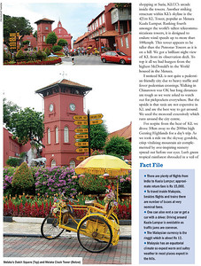 "Footloose: ""Memorable Malaysia"" article by Anu (Arundhathi) and pictures by Suchit (Nanda) in the BTW Magazine (By The Way) 03rd Sept 2007 issue.  http://www.btwmag.com/   Article can be read at: http://suchit.net/writing/index.html  http://www.btwmag.com/03_09_07/pg17.asp  Large size images can be seen here: http://photos.suchit.in/gallery/1132998/"