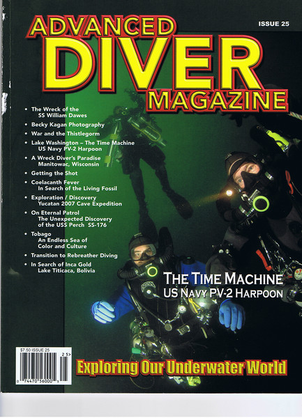Advanced Diving Magazine article (by K. Denlay)