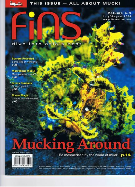 Fins Magazine 2007 (by C. Verdier)