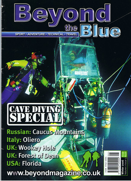 Into The Blue Magazine article (by Dr Mike Gadd)