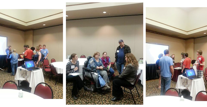 I was delighted to present at the NH Family Services Conference.  Educators, students and providers collaborated to present a day of information and discussion.  <br /> Above is the discussion and question time that was post-presentation.  I felt a deep connection to the people who attended my workshop.