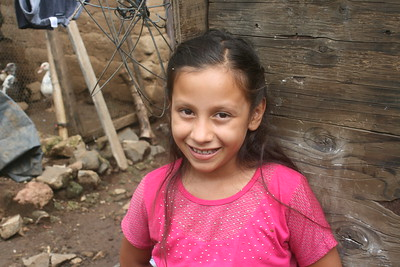Jenifer Barrientos, 10, hopes to see the kind of community we've built in Nuevo Cuscatlan, El Salvador, repeated in Ahuachapan, El Salvador.