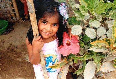 Lizzy now lives in a Fuller Center home in Peru