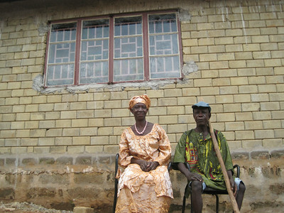 Santigue Kanu (right), Sierra Leone.