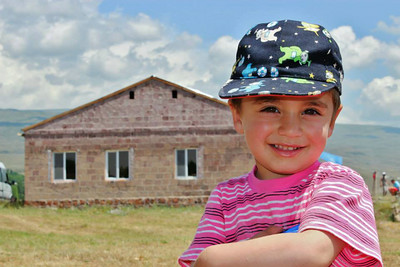 Hambardzum and his family have a safe new home in Armenia.