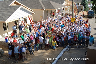 PROGRAMS: The Millard Fuller Legacy Build, a weeklong building blitz to honor the legacy of Millard Fuller. The 2015 10th anniversary build will be in Shreveport's Allendale neighborhood, where this all began in 2005.