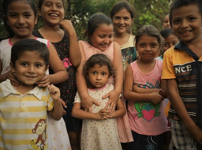 Hopeful children of Ahuachapán.