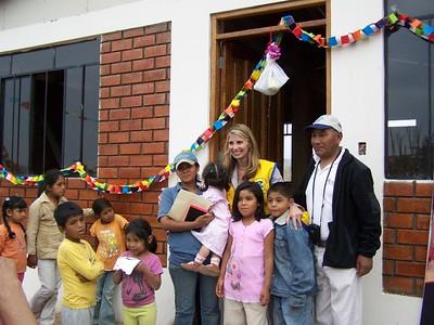 Home dedication for Ana Tarazona Ramos' family