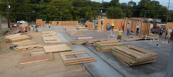 HDW supported our 2015 Millard Fuller Legacy Build in Shreveport