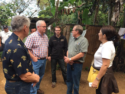 Jeff Cardwell has been instrumental in helping El Salvador add decent homes