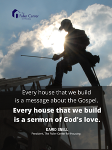 18 24 poster every house is a sermon