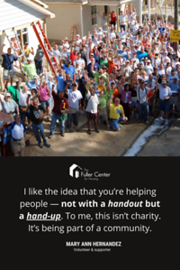 24 36 poster hand up