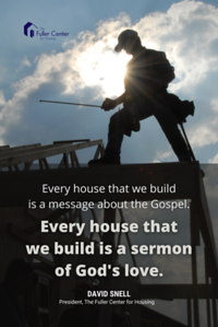 24 36 poster every house is a sermon
