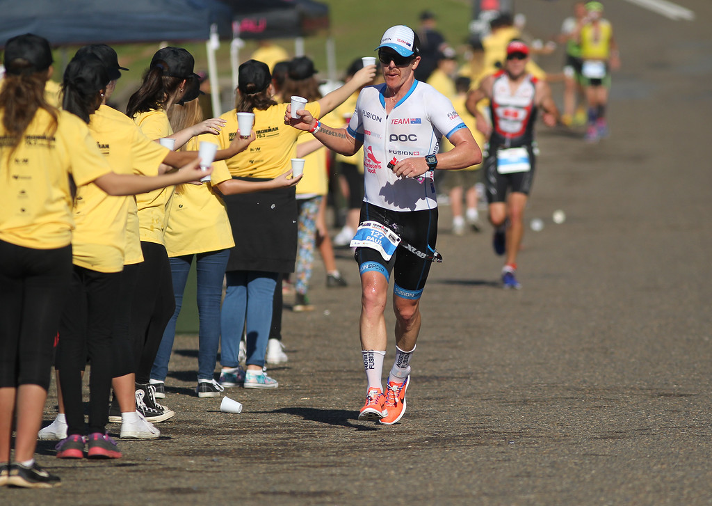 An image from Ironman Australia, held in Port Macquarie, New South Wales on 7th May 2017. (Photo: Rob Sheeley)
