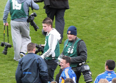 Shouldn't be wearing that foreign game Arsenal hat in Croke Park
