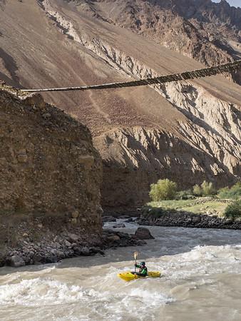 Kristof Sturssa in Tajikistan