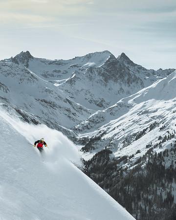 Sam Carr, freeride, St. Anont am arlberg
