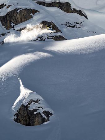 Gigi Ruff, freeride, Stuben Am Arlberg, AT