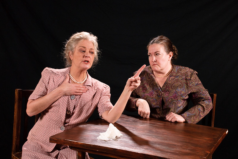 CeCe Newbrough (Fanny) and Mary MacLeod (Anise)