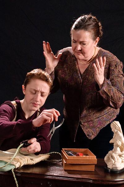 Andrew Sharpe (Bodo) and Mary MacLeod (Anise)