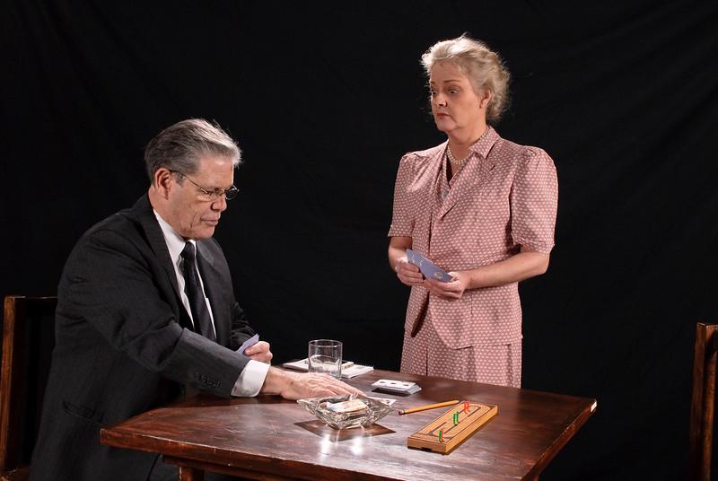 Tim Sayles (Teck) and CeCe Newbrough (Fanny)