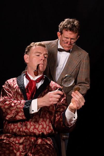Nick Beschen (Watson); Jim Gallagher (Holmes) Photo Courtesy of Colburn Images