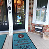 Medical Arts Hearing Instruments has 40 years of continuous operation in Leominster. The City honored them on Thursday with a citation for their many years. This door mat, in front of their shop, was made for this occasion. SENTINEL & ENTERPRISE/JOHN LOVE