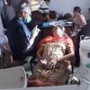 Dr.  Ashokbhai at Work
