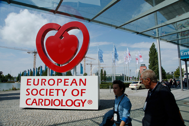 Munich,  - ESC 2012- General Views at the European Society of Cardiology annual meeting here today, Saturday August 25, 2012. Over 27,000 attendees have come from over 140 countries to learn the latest in Caridovascular research. Photo by © Todd Buchanan 2012 Technical Questions: todd@toddbuchanan.com;