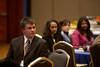 San Antonio, TX - SABCS 2009 San Antonio Breast Cancer Symposium: Attendees at the AACR Scholar-in-Training Awards and Minority Scholar Awards funded by the Susan G. Komen for the Cure at the 2009 San Antonio Breast Cancer Symposium here today, Wednesday December 9, 2009. Over 8,000 Physicians, researchers and healthcare professionals from over 60 countries attended the meeting which features the latest research on Breast Cancer Treatment and Prevention. Date: Wednesday December 9, 2009 Photo by © SABCS/Todd Buchanan 2009 Technical Questions: todd@toddbuchanan.com; Phone: 612-226-5154.