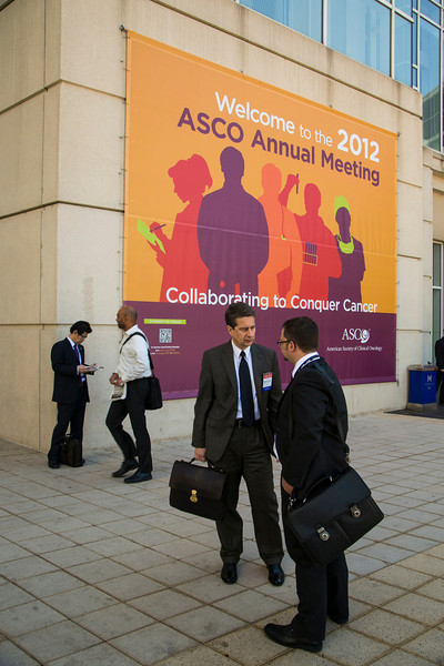 Chicago, IL - ASCO 2012 Annual Meeting: - General Views<br />   during the  at the American Society for Clinical Oncology (ASCO) Annual Meeting here today, Monday June 4, 2012.  Over 31,000 physicians, researchers and healthcare professionals from over 100 countries are attending the meeting which is being held at the McCormick Convention center and features the latest cancer research in the areas of basic and clinical science. Photo by © ASCO/Todd Buchanan 2012 Technical Questions: todd@toddbuchanan.com; ASCO Contact: photos@asco.org