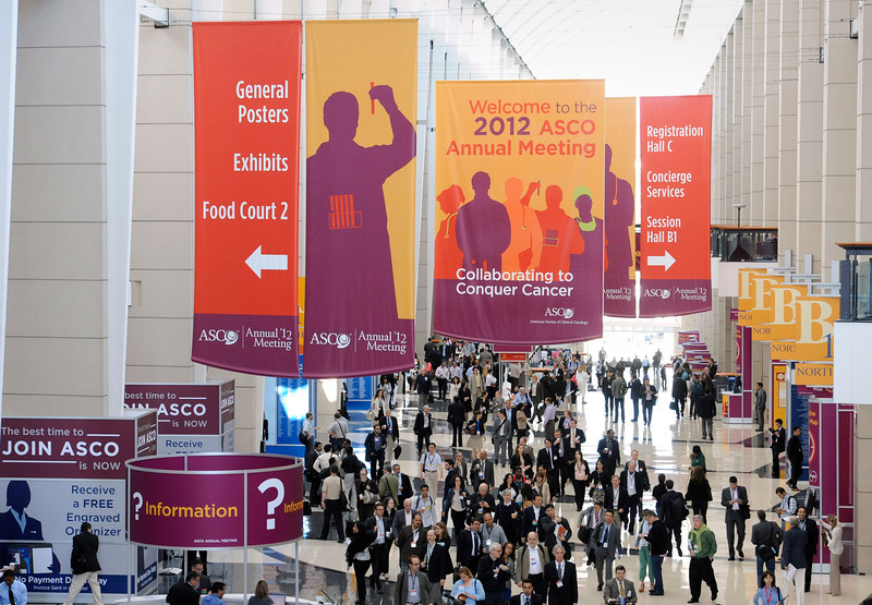 Chicago, IL - ASCO 2011 Annual Meeting: - General views  during  the American Society for Clinical Oncology (ASCO) Annual Meeting here today, Sunday June 3, 2012.  Over 25,000 physicians, researchers and healthcare professionals from over 100 countries are attending the meeting which is being held at the McCormick Convention center and features the latest cancer research in the areas of basic and clinical science. Photo by © ASCO/Phil McCarten 2012 Technical Questions: todd@toddbuchanan.com; ASCO Contact: photos@asco.org