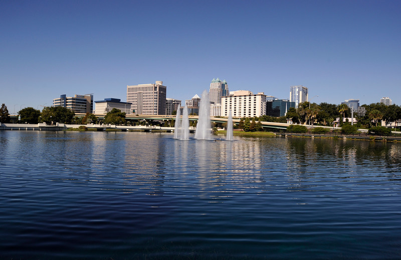 Orlando, FL - AHA 2009 2009 -  Views of the city of Orlando are seen during the American Heart Association Scientific Sessions 2009 here today, Sunday November 15, 2009.  Photo by © Phil McCarten 2009. Photo/Technical Questions: todd@toddbuchanan.com; Phone: 612-226-5154.