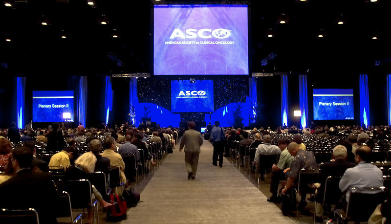 Orlando, FL - ASCO 2005 - Attendees fill the Plenary Session, Sunday, May 15, 2005, at the American Society of Clinical Oncology's (ASCO) 41st Annual Meeting at the Orange County Convention Center in Orlando, Fl. The meeting attracts more than 25,000 oncologists, cancer researchers and cancer care professionals from more than 100 countries. Credit: Photo Courtesy © ASCO/Todd Buchanan 2005. ASCO Contact: Carrie Housman/Communications Dept.; 703-519-1423. Technical Questions: todd@toddbuchanan.com; 612-226-5154.