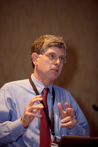 Orlando, FL - 2009 ASCO GU Symposium - Dr. Ian M Thompson addresses the Best of Journals Session at the 2009 ASCO Genitourinary Cancers Symposium here today, Wednesday February 25, 2009. Date: Wednesday February 25, 2009 Photo by © ASCO/Todd Buchanan 2009 Technical Questions: todd@toddbuchanan.com; Phone: 612-226-5154.