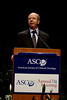 Chicago, IL - ASCO 2008: R. Pirker, MD, addresses the Plenary Session Sunday June 1, 2008 during the American Society of Clinical OncologyÕs (ASCO) 44th Annual Meeting. The meeting attracts more than 25,000 oncologists, cancer researchers and cancer care professionals from more than 100 countries. Date: Sunday June 1, 2008 Photo by © ASCO/Todd Buchanan 2008 ASCO Contact: Tiffany Reynolds/Communications Dept.; 703-519-1423. Technical Questions: todd@toddbuchanan.com; Phone: 612-226-5154.