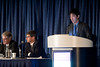"""Chicago, IL - ASCO 2013 Annual Meeting: - Takahide Taguchi, MD,  during """"#6004 Takahide Taguchi, MD Adjuvant chemotherapy with S-1 after curative treatment in patients with head and neck cancer (ACTS-HNC). """" at the American Society for Clinical Oncology (ASCO) Annual Meeting here today, Sunday June 2, 2013.  Over 30,000 physicians, researchers and healthcare professionals from over 100 countries are attending the meeting which is being held at the McCormick Convention center and features the latest cancer research in the areas of basic and clinical science. Photo by © ASCO/Brian Powers 2013 Technical Questions: todd@toddbuchanan.com; ASCO Contact: photos@asco.org"""