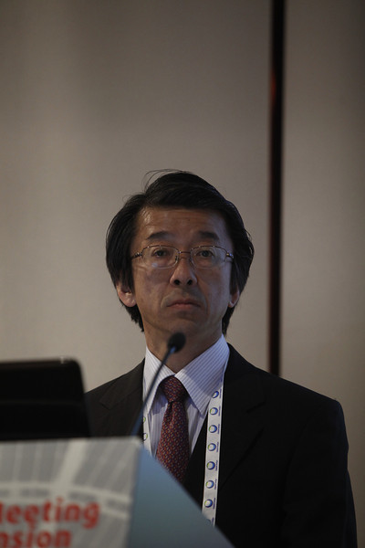 Milan,  - ESH 2011: M Shimizu's Poster at Session OS9a - a22 - Effects of valsartan for high-risk hypertensive patients with new-onset diabetes: new finding from Kyoto heart study at the European Society of Hypertension meeting here today, Monday June 20, 2011.The meeting attracts more than 6,000 physicians, researchers and health care professionals from more than 30 countries. Date: Monday June 20, 2011 Photo by © Todd Buchanan 2011  Technical Questions: todd@toddbuchanan.com; Phone: 612-226-5154.