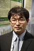 Milan,  - ESH 2011: T Kanioka's Poster at Session PS44 - a16 - Poster 394 Effects of aliskiren-based therapy on ambulatory blood pressure profile and central aortic pressure in untreated patients with mild-to-moderate essential hypertension at the European Society of Hypertension meeting here today, Monday June 20, 2011.The meeting attracts more than 6,000 physicians, researchers and health care professionals from more than 30 countries. Date: Monday June 20, 2011 Photo by © Todd Buchanan 2011  Technical Questions: todd@toddbuchanan.com; Phone: 612-226-5154.