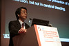 Milan,  - ESH 2011: T Sawada speaks during Session OS6C: a12 - T. Sawada - Detailed analysis of valsartan on stroke event reduction in japanese high-risk hypertensive patients –new finding from Kyoto heart study- at the European Society of Hypertension meeting here today, Sunday June 19, 2011.The meeting attracts more than 6,000 physicians, researchers and health care professionals from more than 30 countries. Date: Sunday June 19, 2011 Photo by © Todd Buchanan 2011  Technical Questions: todd@toddbuchanan.com; Phone: 612-226-5154.