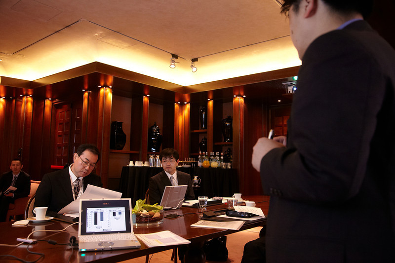 Milan,  - ESH 2011: Novartis - Round table and interview at the European Society of Hypertension meeting here today, Sunday June 19, 2011.The meeting attracts more than 6,000 physicians, researchers and health care professionals from more than 30 countries. Date: Sunday June 19, 2011 Photo by © Todd Buchanan 2011  Technical Questions: todd@toddbuchanan.com; Phone: 612-226-5154.
