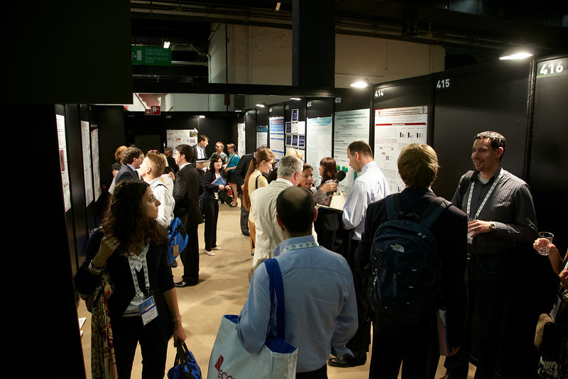 Milan,  - ESH 2011: Poster Sessions at the European Society of Hypertension meeting here today, Saturday June 18, 2011.The meeting attracts more than 6,000 physicians, researchers and health care professionals from more than 30 countries. Date: Saturday June 18, 2011 Photo by © Todd Buchanan 2011  Technical Questions: todd@toddbuchanan.com; Phone: 612-226-5154.
