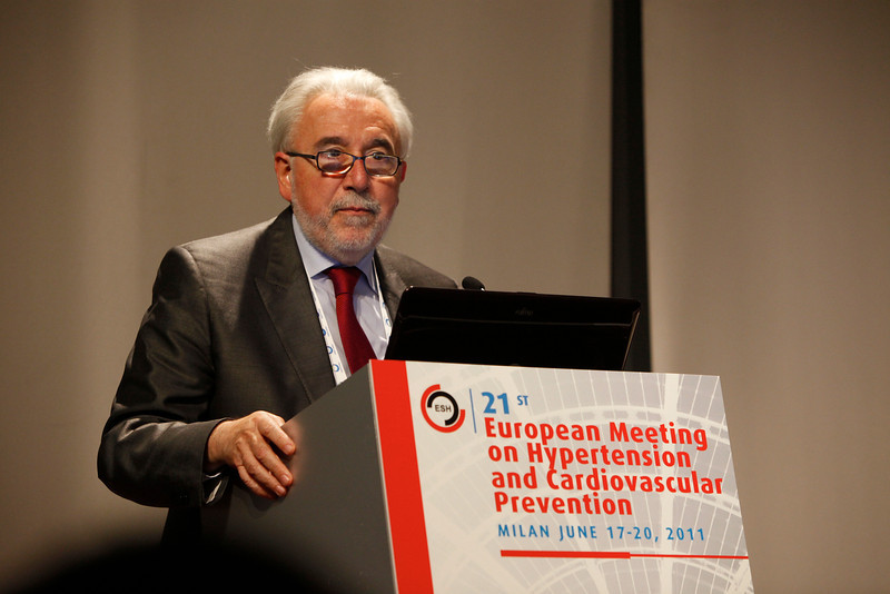 Milan,  - ESH 2011: General Views at the European Society of Hypertension meeting here today, Saturday June 18, 2011.The meeting attracts more than 6,000 physicians, researchers and health care professionals from more than 30 countries. Date: Saturday June 18, 2011 Photo by © Todd Buchanan 2011  Technical Questions: todd@toddbuchanan.com; Phone: 612-226-5154.